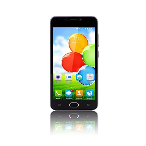 """Fusion5 5"""" Sim-Free Unlocked 4G Android Mobile Phone 5.1 Lollipop Smartphone - 1GB RAM - 24GB Storage - Dual-SIM - 1280 * 720 QHD - 5MP and 8MP Cameras - Touch screen smartphone"""
