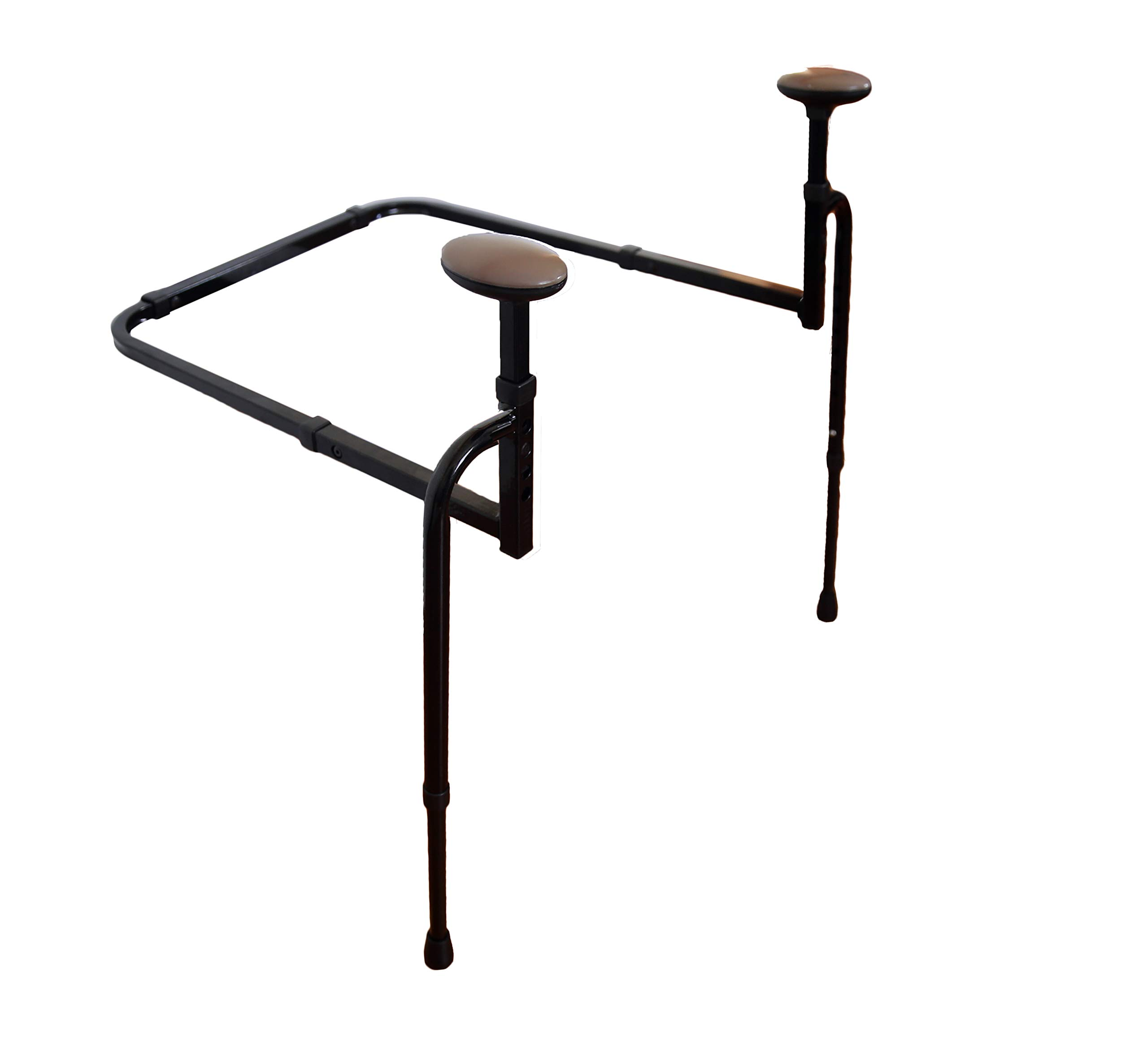 Stander EZ Stand-N-Go - Ergonomic Stand Assist Handles + Adjustable Standing Mobility Aid for Couch Chair & Sofa & Living Room Grab Bar by Stander