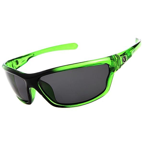 GAFAS DE SOL POLARIZADAS DE NITRÓGENO PARA HOMBRE deporte corriendo pesca Golfing gafas de conducción marco Color: verde