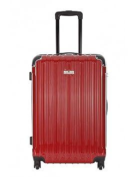 Platinium-Maleta de cabina Low cost-EXETER, color rojo, S ...