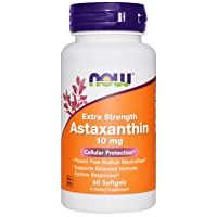 Now Foods, Astaxanthin, Extra Strength, 10 mg, 60 Softgels