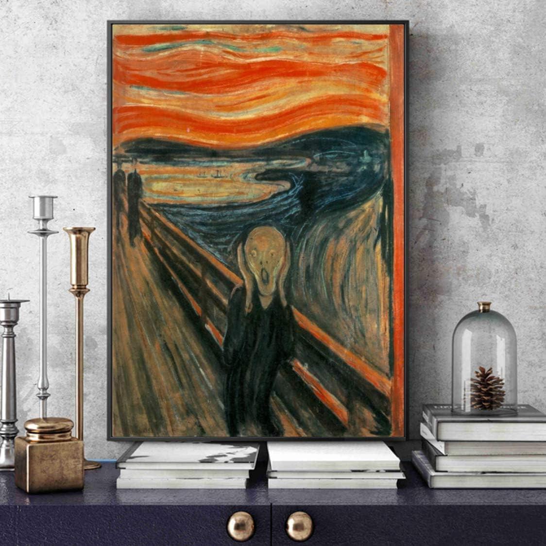 Danjiao Arte En Lienzo Pinturas Reproducciones Abstracto Clásico Grito Carteles De Pared Cuadros Decoración Del Hogar Sala De Estar Decor 60x90cm