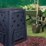 WC Redmon Compost Bin and Compost Turning Tool Combo Set