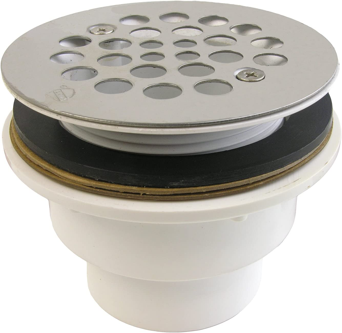 "LASCO 03-1182 Pvc Fiberglass Shower Drain, 2"",,"