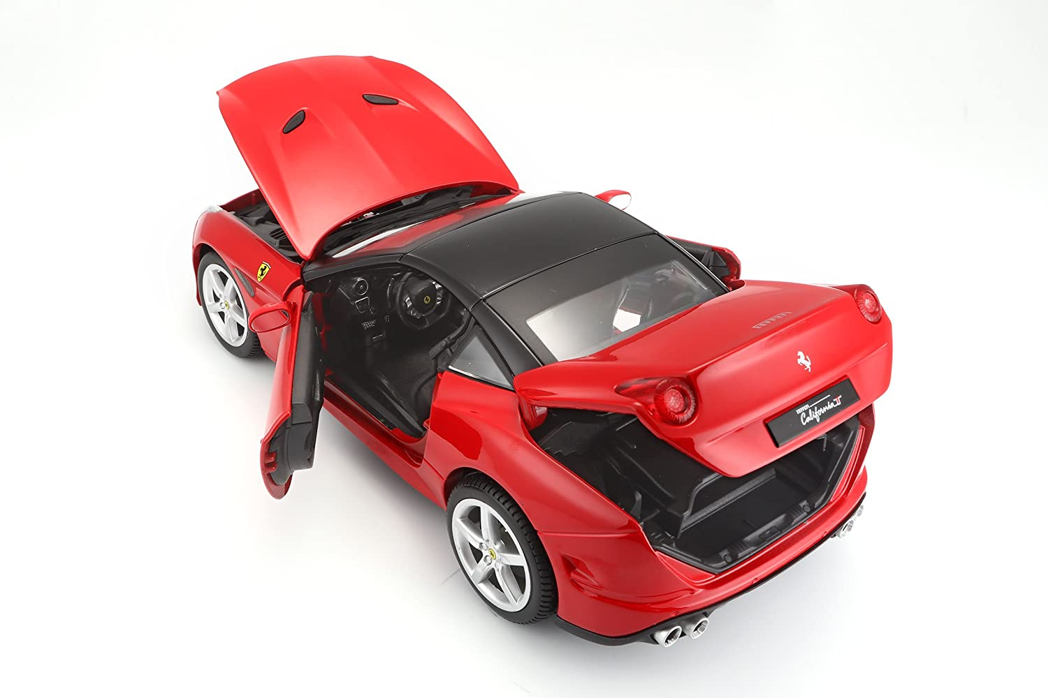 Bburago 1:18 Scale Ferrari Race and PlayCalifornia T Colors May Vary Diecast Vehicle Closed top 18-16003