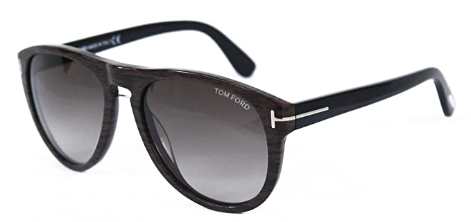 Tom Ford Sunglasses - Kurt / Frame: Brown Wood Grain Lens: Brown ...