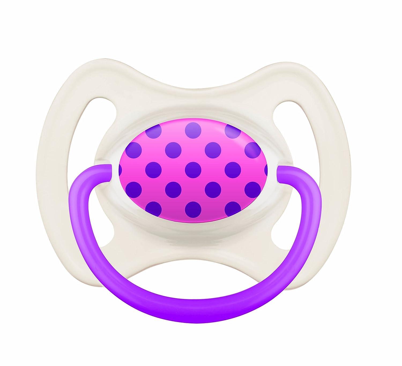 Mam Anneau - Lote de 2 chupetes de silicona para bebés de más de 18 meses