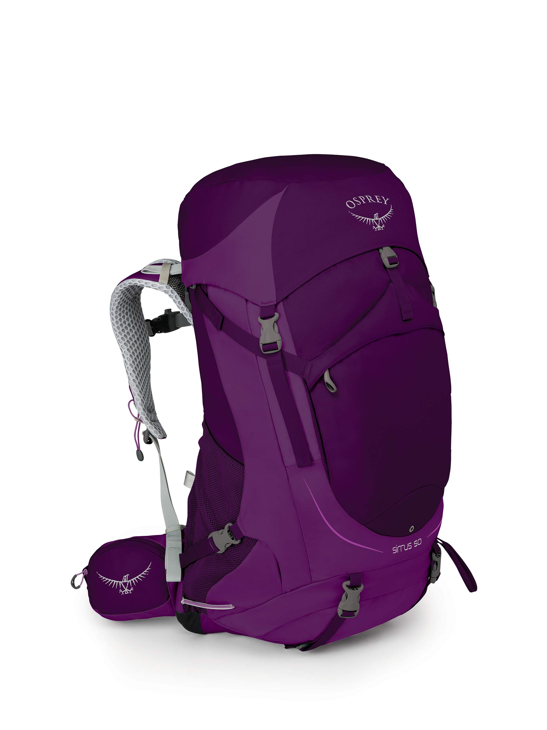 Osprey Packs Sirrus 50 Women's Backpacking Backpack, Ruska Purple, Small/Medium by Osprey