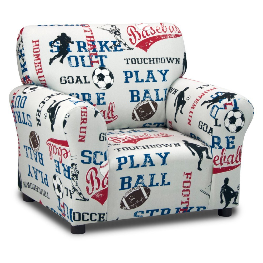 Kidz World Sports - American Blue Club Chair