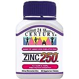 21st Century Zinc 250mg, 60 ct