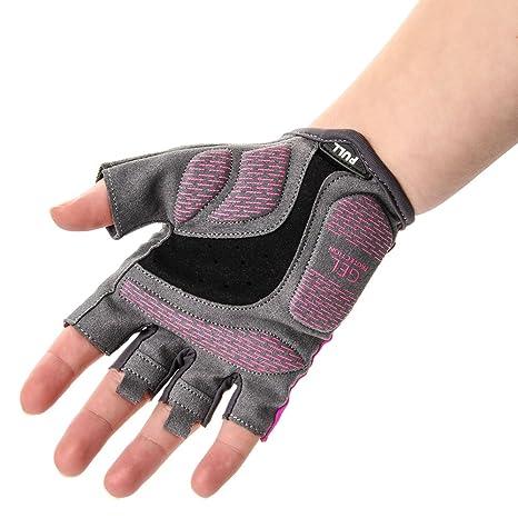 meteor® mujeres - Guantes Bike - Lady LX20, Las almohadillas de gel proporcionan una conducción cómoda, flexibilidad de material, diseñados y fabricados con ...