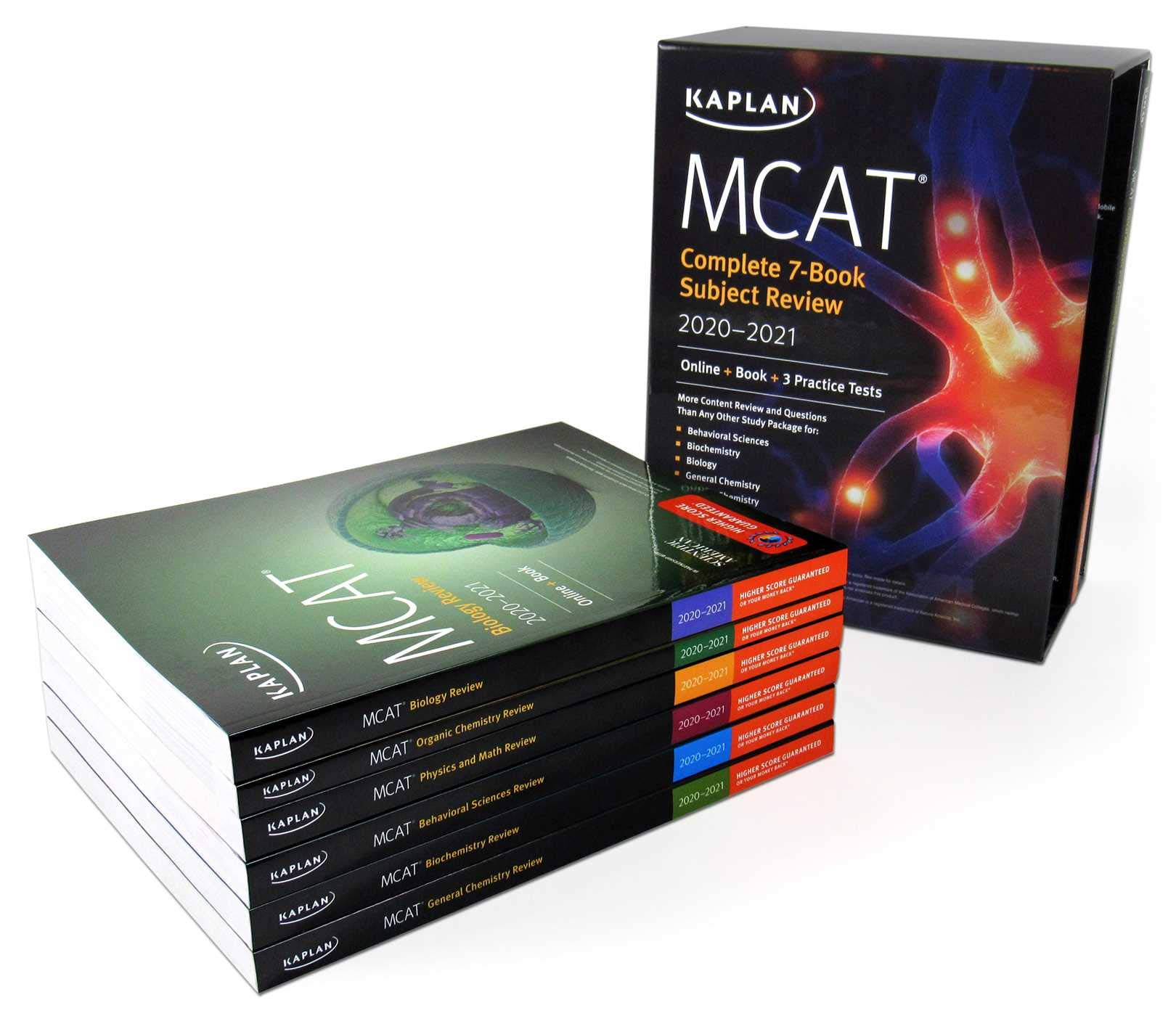 MCAT Complete 7-Book Subject Review 2020-2021: Online + Book + 3 Practice Tests (Kaplan Test Prep) by Kaplan Publishing