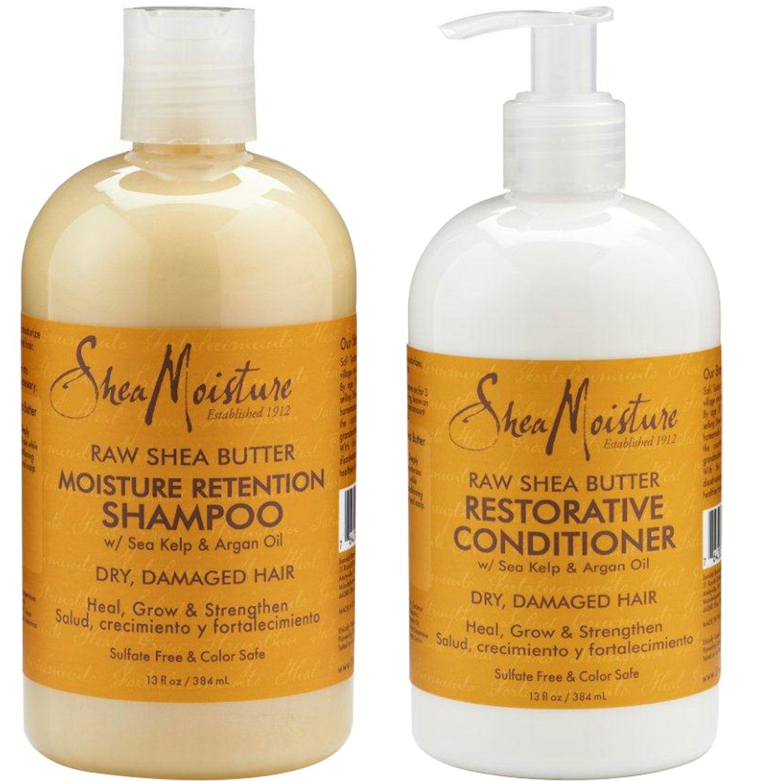 shea moisture shampoo and conditioner