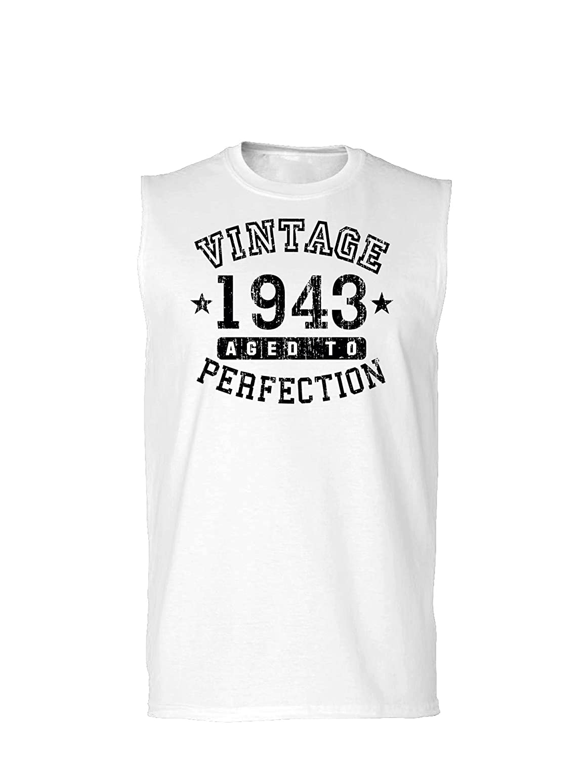 Vintage Birth Year Muscle Shirt Brand TooLoud 1943