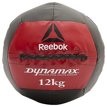 Reebok Dynamax Balón Medicinal, Negro, 9 kg: Amazon.es: Deportes y ...