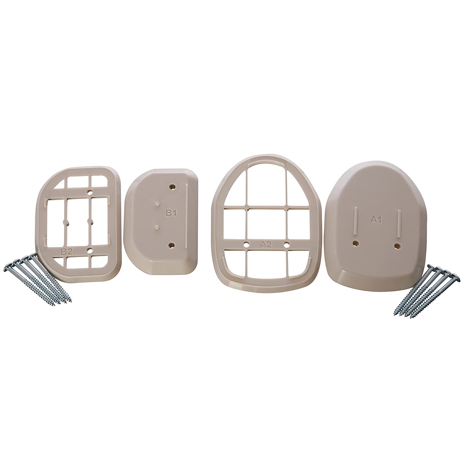 Dreambaby L821 Spacers for Retractable Gate (White)