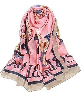 Sweepstakes: Silk Scarf for Women Fashion Long Sunscreen Satin Shawls…