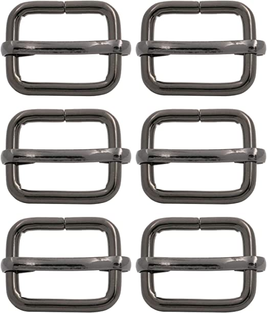Pick Size /& Qty Movable Bar Metal Slide Triglide Purse Strap Adjuster Buckle