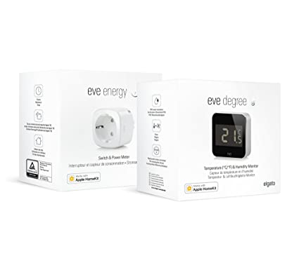 Eve -Kit Aire Limpio (Air Care Kit): Eve Energy y Eve Degree