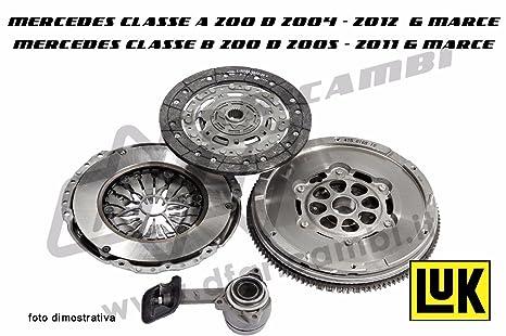 Kit de embrague + volante + cojinete hidráulico Luk KW0024 - 415027610 - 623321619 - 510011310