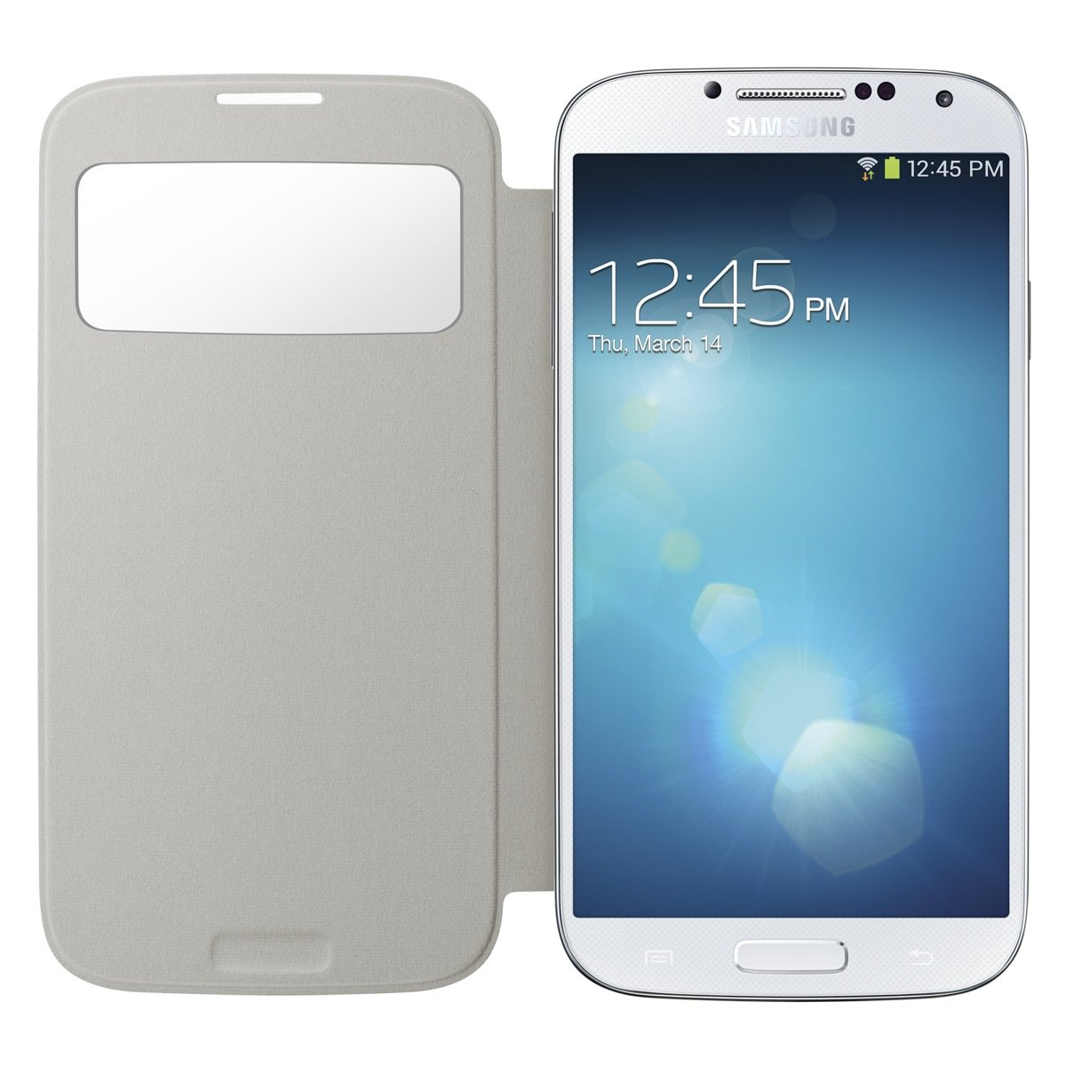 Amazon samsung galaxy s4 s view flip cover folio case white amazon samsung galaxy s4 s view flip cover folio case white cell phones accessories ccuart Image collections