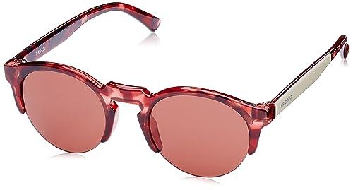 MR.BOHO, Monochrome red born - Gafas De Sol unisex color rojo, talla única
