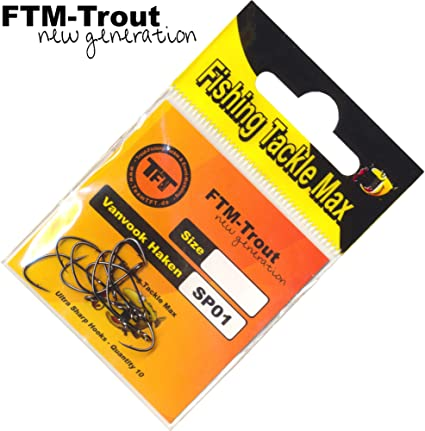 90cm  Farbe FTM  Forellenhaken  Länge BLAU Forelle Haken …