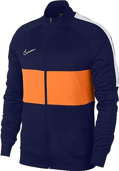 mano Pegajoso Honorable  Amazon.com: Nike Dri-FIT Academy I96 Track Jacket - Navy/Orange - XXL:  Clothing
