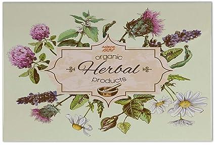 Piastrella floreale flora erbe ceramica stampato 20x30 cm: amazon.it