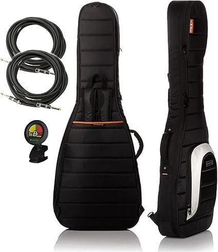 Mono m80-eg-blk Jet Negro único Funda para guitarra eléctrica ...