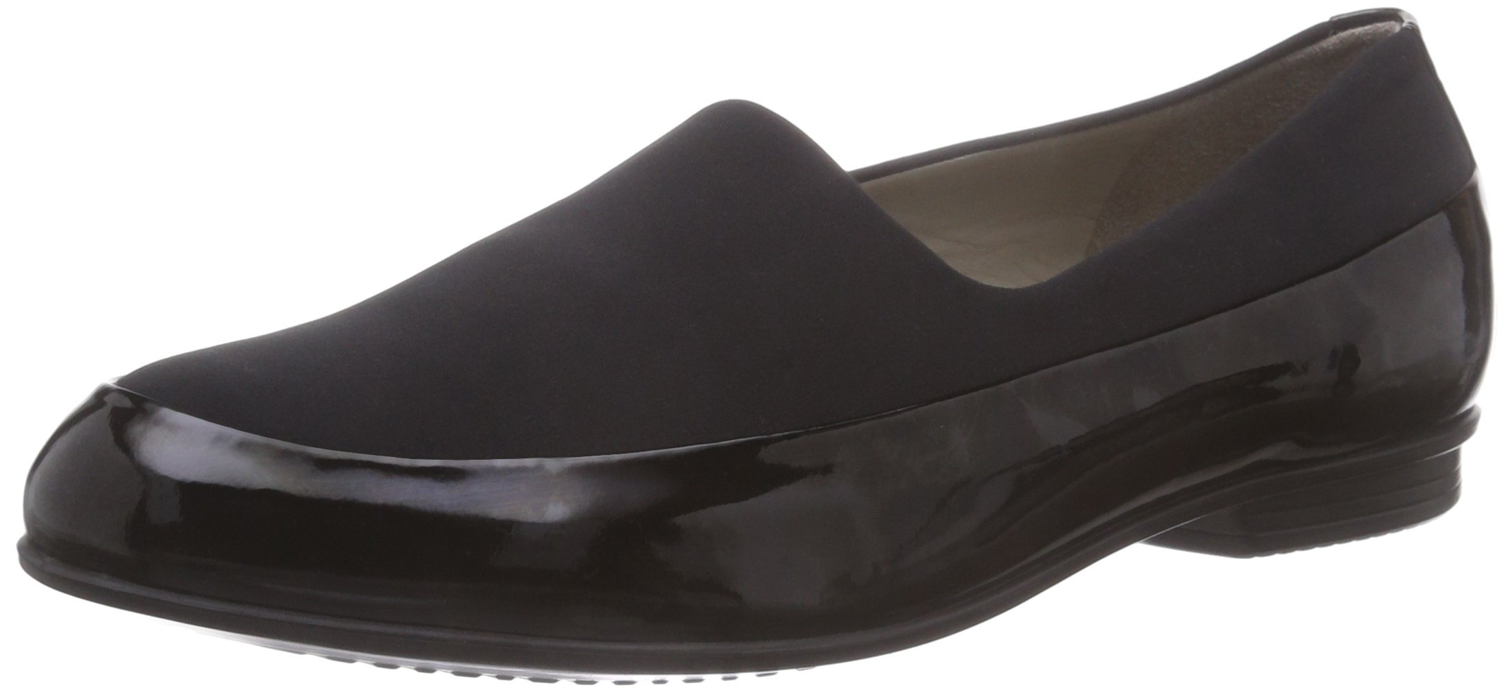 Ecco Footwear Womens Touch Ballerina Stretch Flat, Black, 38 EU/7-7.5 M US