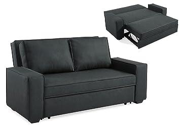 Tremendous Mobilier Deco Sofa 3 Sitzer Convertible Grau Rapido Amazon Evergreenethics Interior Chair Design Evergreenethicsorg
