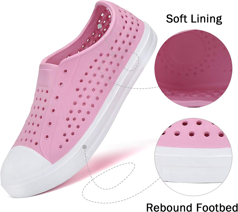 SAGUARO Mens Womens Kids Breathable Water Shoes Beach Sandals Lightweight Slip-On Garden Clogs Sneaker