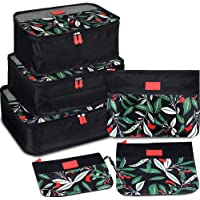 Packing Cubes 7 Set Lightweight Travel Luggage Organizers with Laundry Bag or Toiletry Bag