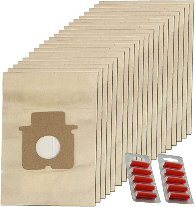SPARES2GO - Bolsa para aspirador Panasonic (20 unidades y ...