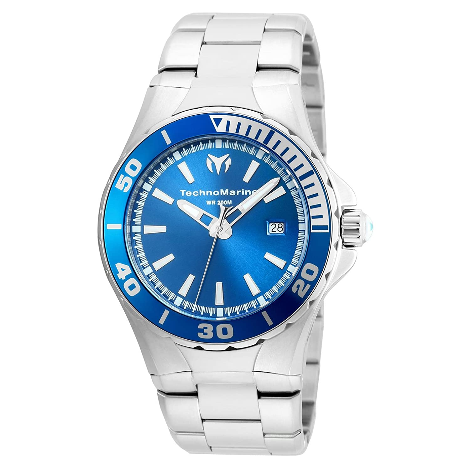 TECHNOMARINE SEA MANTA HERREN-ARMBANDUHR 44MM QUARZ ANALOG TM-215002