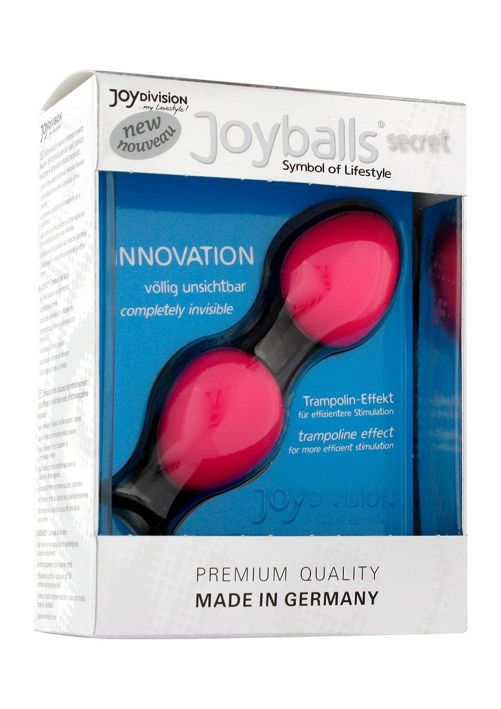 Amazon.com: Joy Division Toys Joyballs Secret Pink/Black Kegel Balls ...