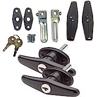 Gordon Glass Co. Bauer Matching Set Locking T-Handle | Complete Kit | Keyed with Key J327