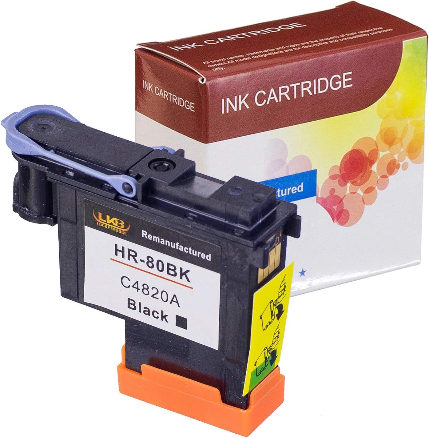 LKB C4820A - Cabezal de impresión para HP DesignJet 1050c 1050c Plus 1055C 1055cm 1055cm Plus (1BK), Color Negro: Amazon.es: Oficina y papelería