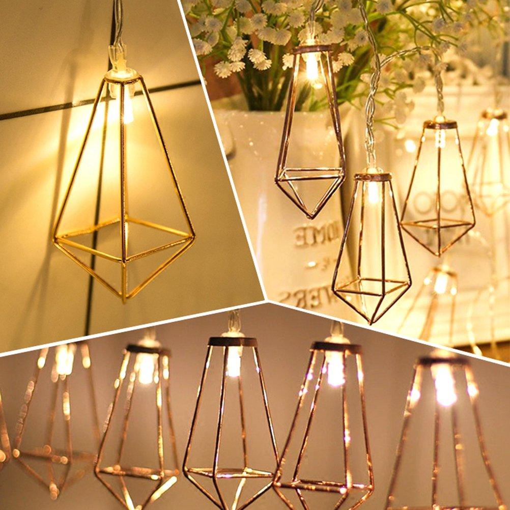 LEDMOMO 2.2M 20 LEDs Lamp String Festival Party Decoration Lantern - Warm White Light