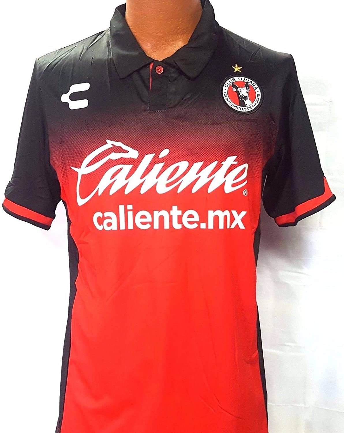 online store f9046 2d6bf New! Red Xolos De Tijuana Generica Replica Jersey Adult Size Large