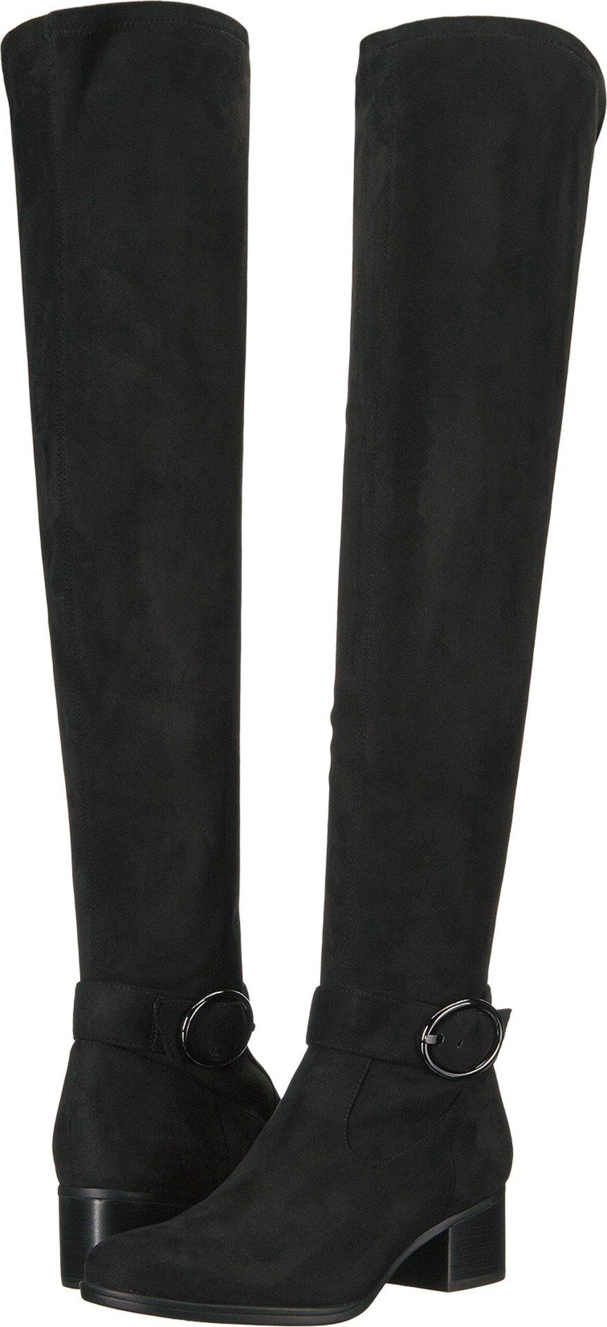 Naturalizer Women's Dayln Slouch Boot, Black, 5.5 M US