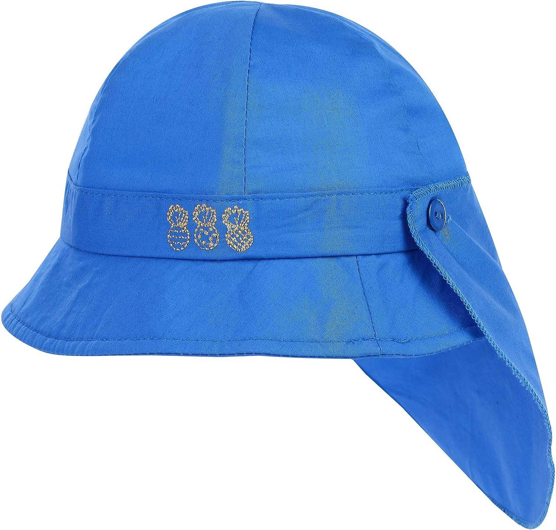 Lachi Cappello da Sole Bambini Estate Anti UV Berretto di Benna Protezione Solare con Visiera Sottogola