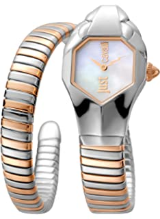 a2688446a3 Just Cavalli Womens Analogue Classic Quartz Watch with Stainless ...