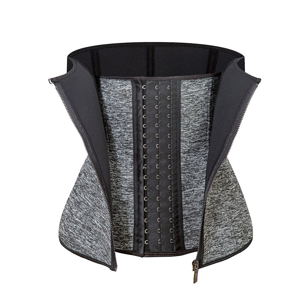 Amazingjoys Waist Trainer Corset for Weight Loss Tummy Control Sport Body Shaper