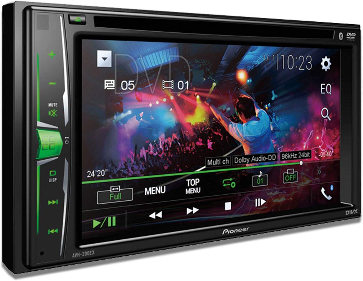 Pioneer AVH-200EX Multimedia DVD Receiver