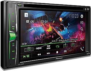 Pioneer AVH-200EX Multimedia DVD Receiver with 6.2