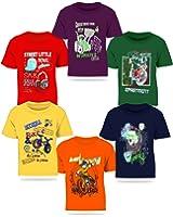 Kiddeo Kids Boy Tshirts(Pack of 6)
