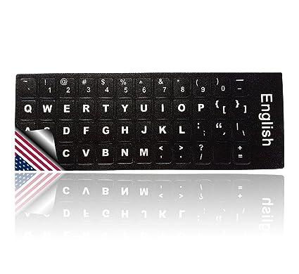 Ledeli Teclado decorativo para teclado Keyboard Pegatinas de teclado Pegatina para PC, Laptop, portátil