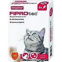 Beaphar Fiprotec Spot On Cat, 6 Pipettes